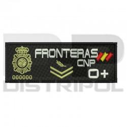 "Parche chaleco ""Fronteras""..."