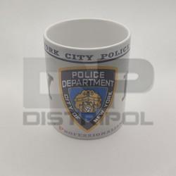 Taza Policia Nueva York